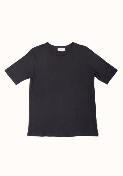 Simple Tee Washed Black