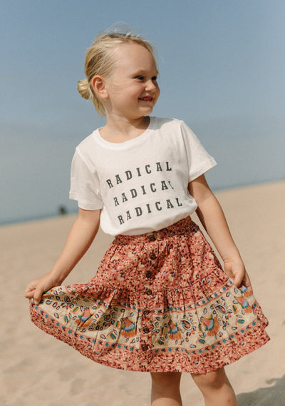 Radical Classic Tee Bright White - Little Auguste