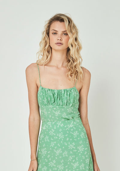 Maeve Davis Cami Vibrant Green - Auguste The Label