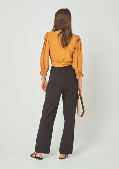 Frida Blouse Amber - Auguste The Label