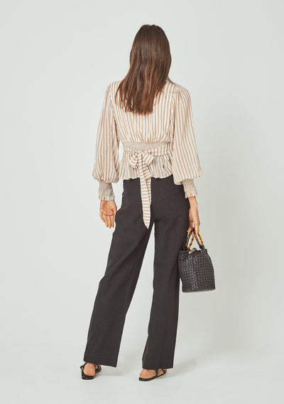 Tour Sonnet Blouse Almond - Auguste The Label
