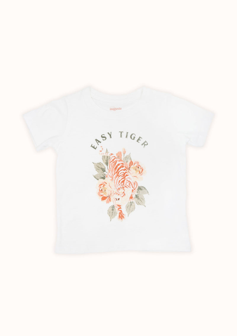 Easy Tiger Classic Tee Off White