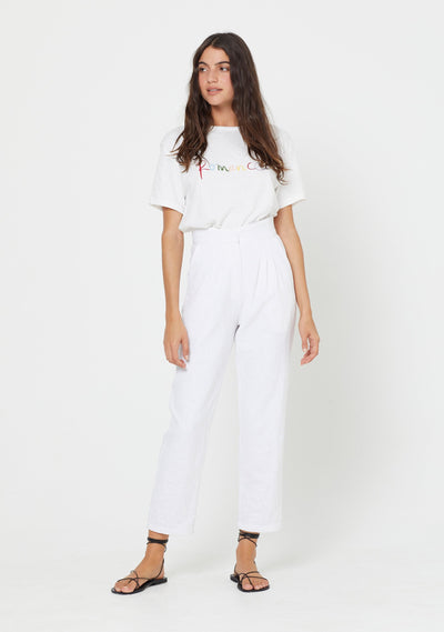Romance Tee White - Auguste The Label