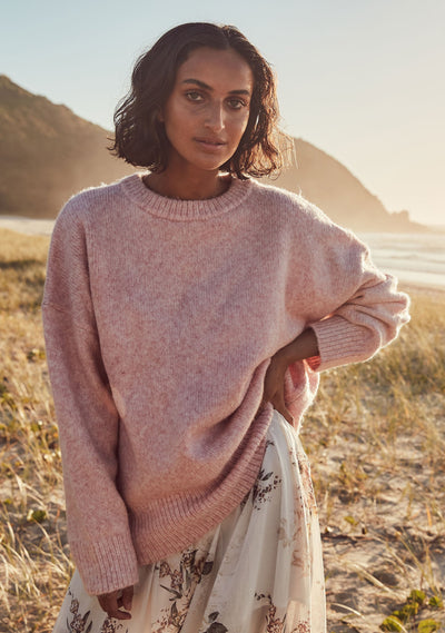 Sara Knit Blush - Auguste The Label