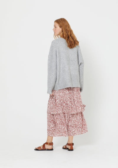 Sara Knit Grey - Auguste The Label
