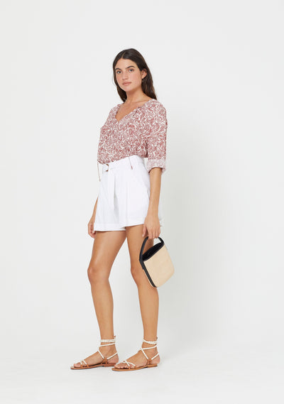 Freya Alex Blouse Pink - Auguste The Label