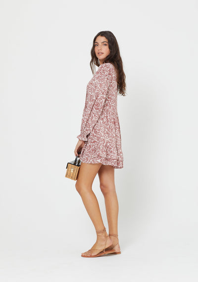 Freya Eliza Mini Dress Pink - Auguste The Label