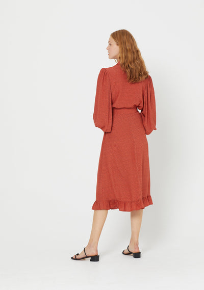 Florence Alfie Shirt Terracotta - Auguste The Label