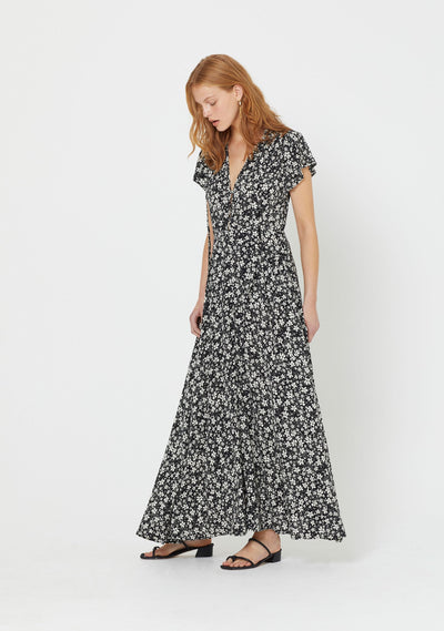 Cole Wylde Maxi Dress Black - Auguste The Label
