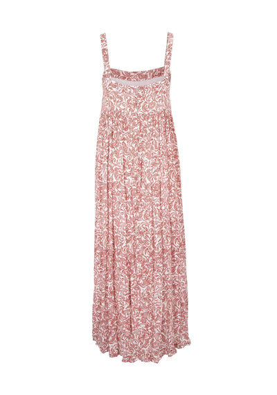 Freya Zara Strap Maxi Dress Pink - Auguste The Label