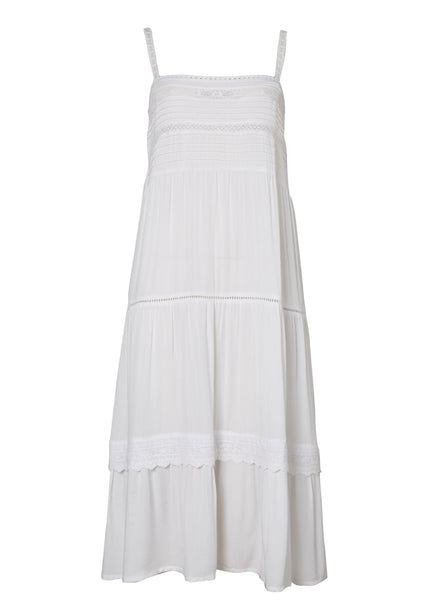 Sandy Days Day Dress White