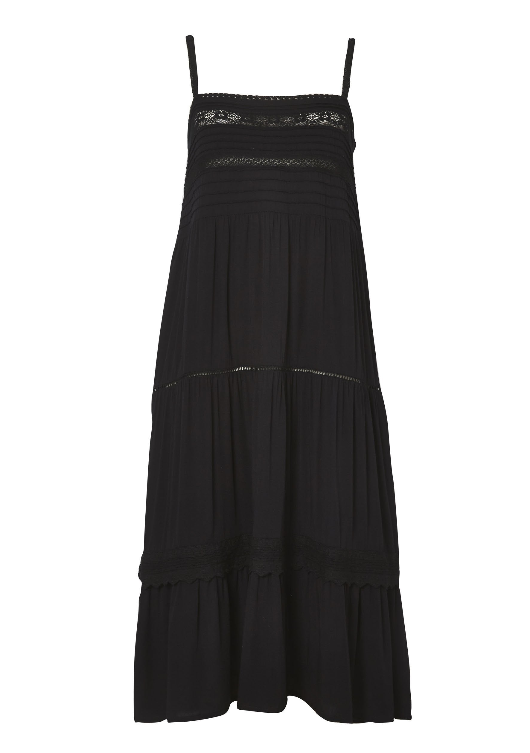 Sandy Days Day Dress Black