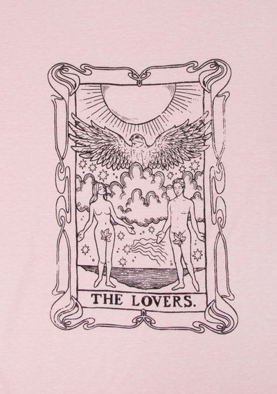 The Lovers Tee Blush - Auguste The Label