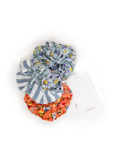 3-Pack Auguste Scrunchies - Wategoes - Auguste The Label
