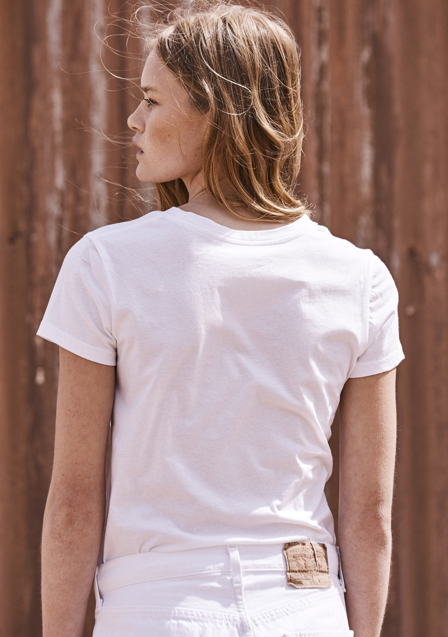 Basic Crew Neck Tee White
