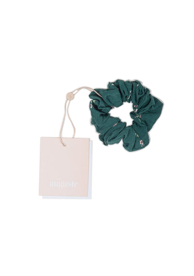 Clementine Little Auguste Scrunchie Emerald - Little Auguste - Auguste The Label