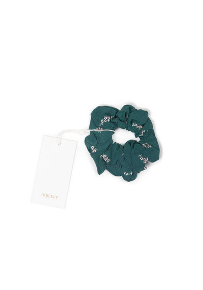 Clementine Auguste Scrunchie Emerald - Auguste The Label