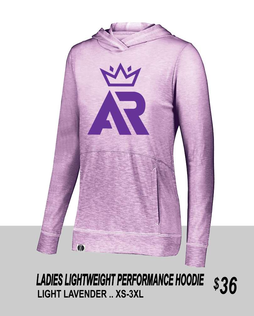 AR 2019 LADIES PERFORMANCE HOODIE