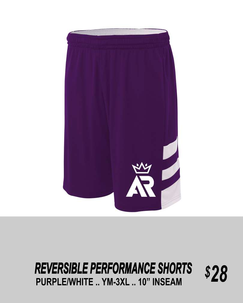 AR 2019 REVERSIBLE PERFORMANCE SHORTS 3