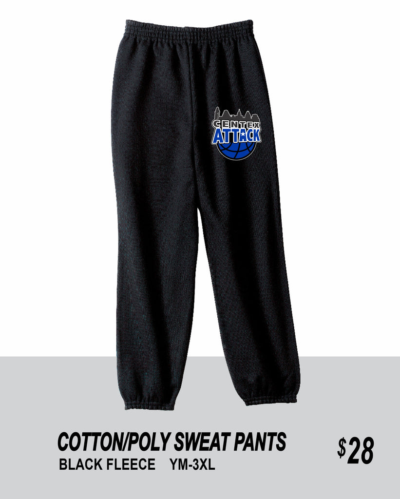CENTEX 2021 BLACK SWEAT PANTS