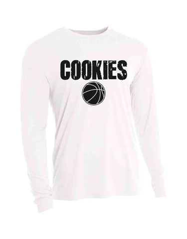 Basketbal LS COOKIES PERFORMANCE TEE