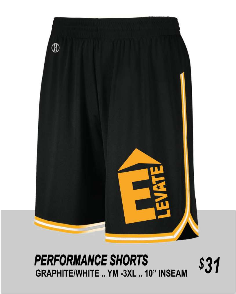 ELEVATE 2021 PERFORMANCE SHORTS