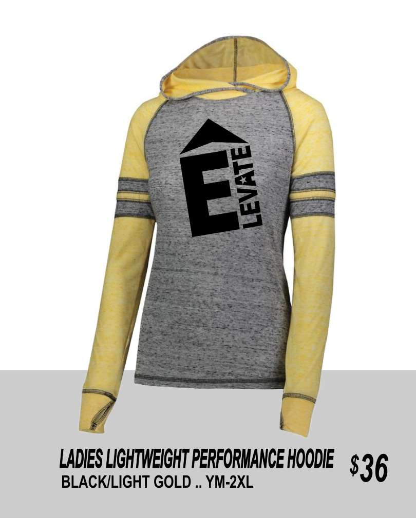 ELEVATE 2019 LADIES LIGHTWEIGHT PERFORMANCE HOODIE