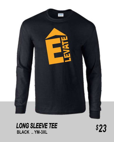 ELEVATE 2021 BLACK LONG SLEEVE TEE