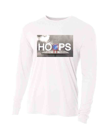 HOOPS LONG SLEEVE PERFORMANCE SHIRT