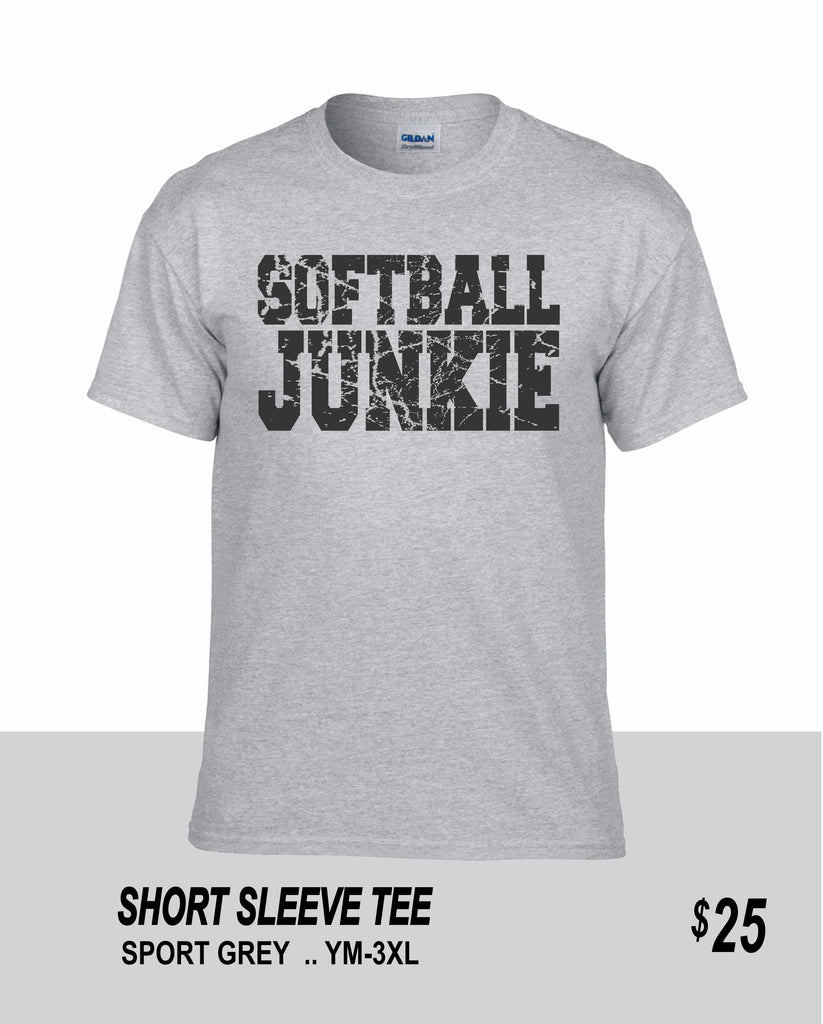 Softball SS Softball Junkie Tee