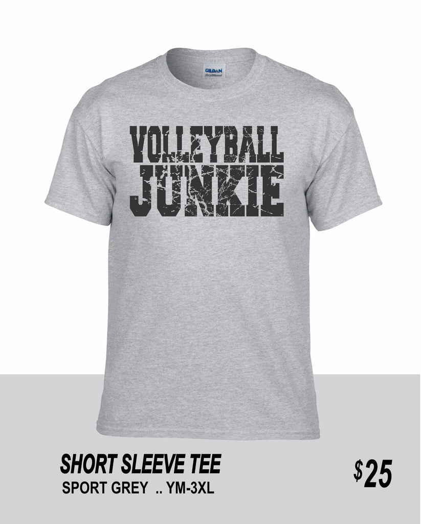 Volleyball SS Volleyball Junkie Tee
