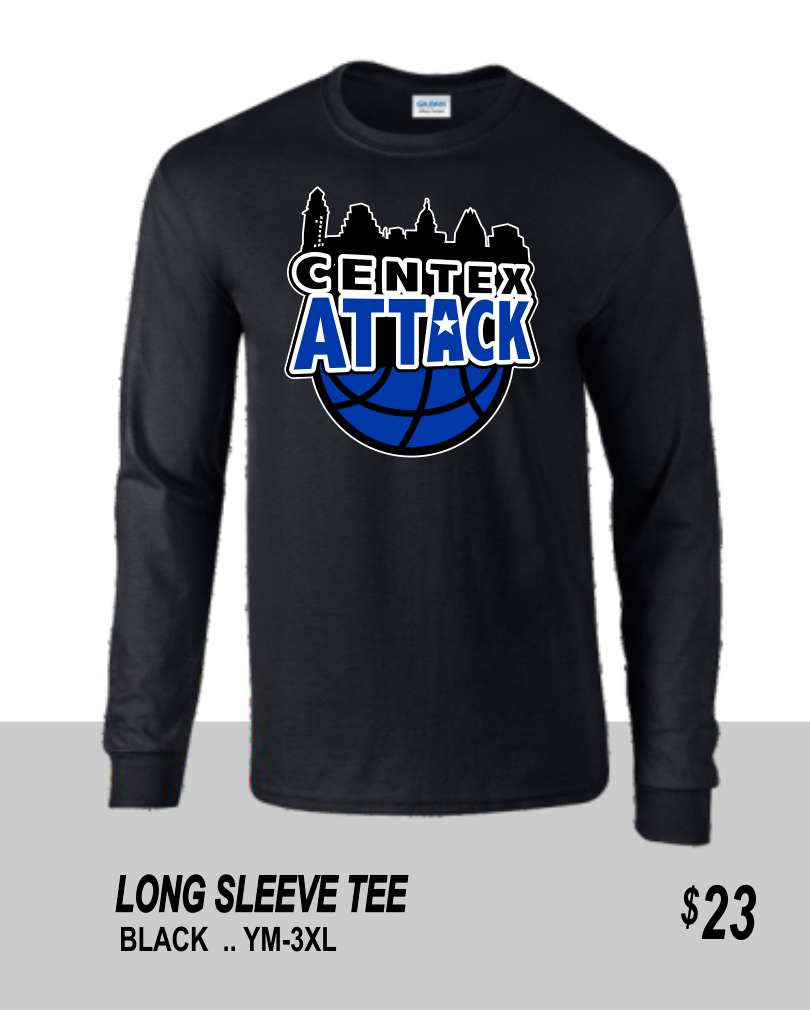 CENTEX 2021 BLACK LONG SLEEVE TEE