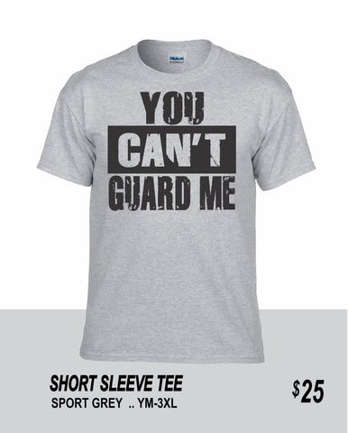 Football SS You Can't Guard Me Tee