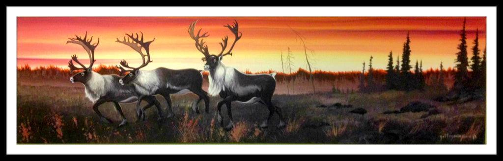 Jeff Monias Original: Caribou Migration