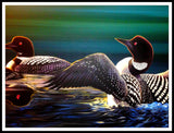 Jeff Monias Original: Loon Trio