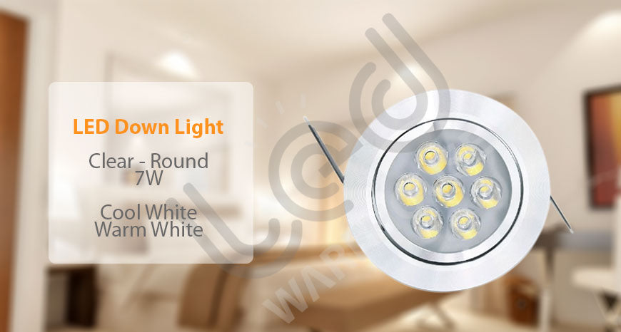 down light 8w-round