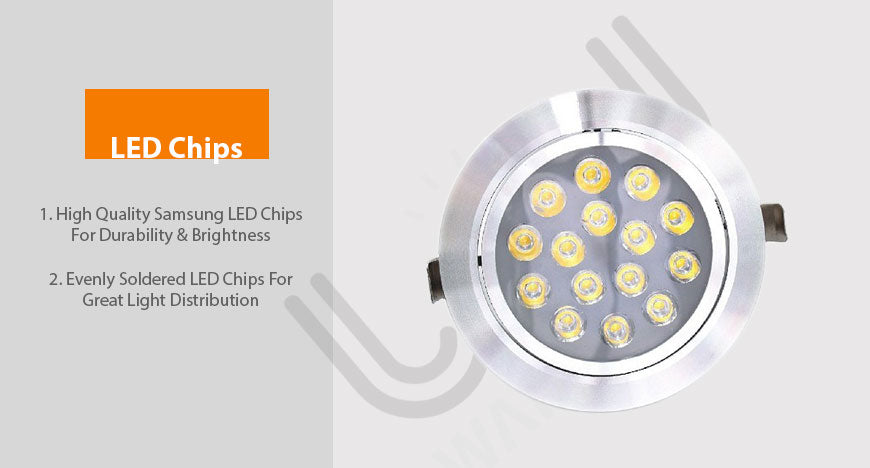 down light 8w-led chips