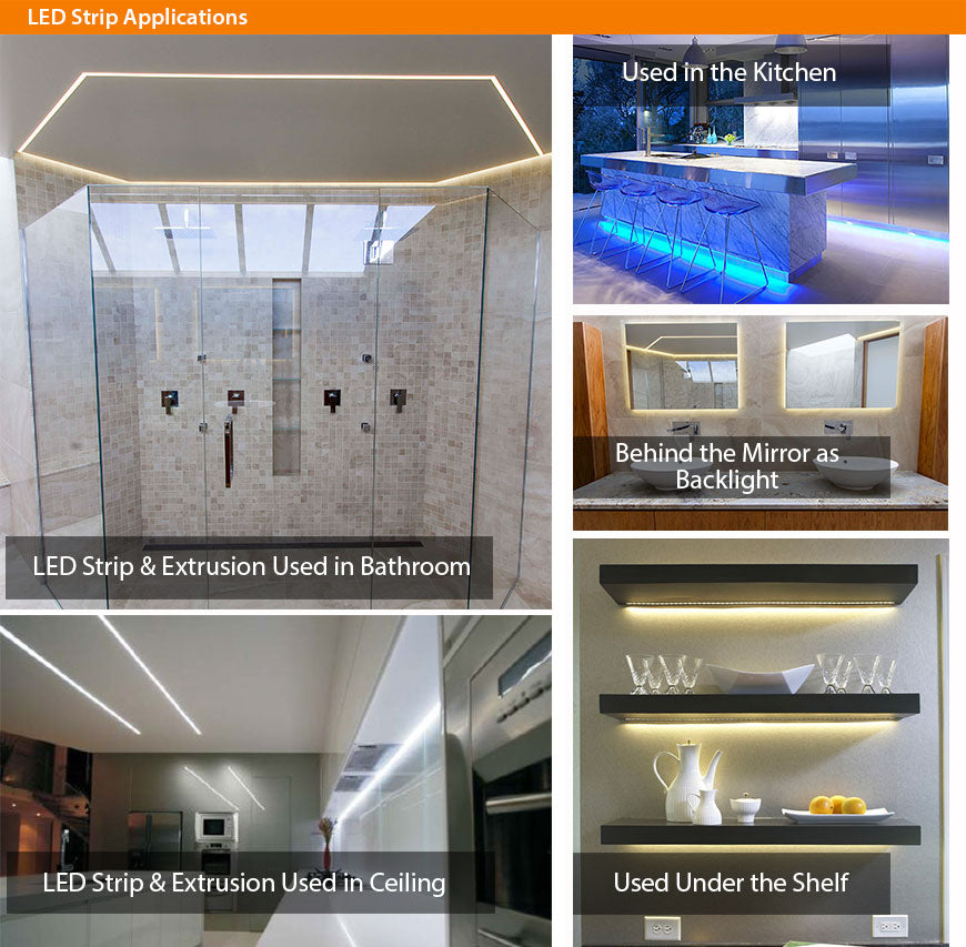 LED Strip Application Photo