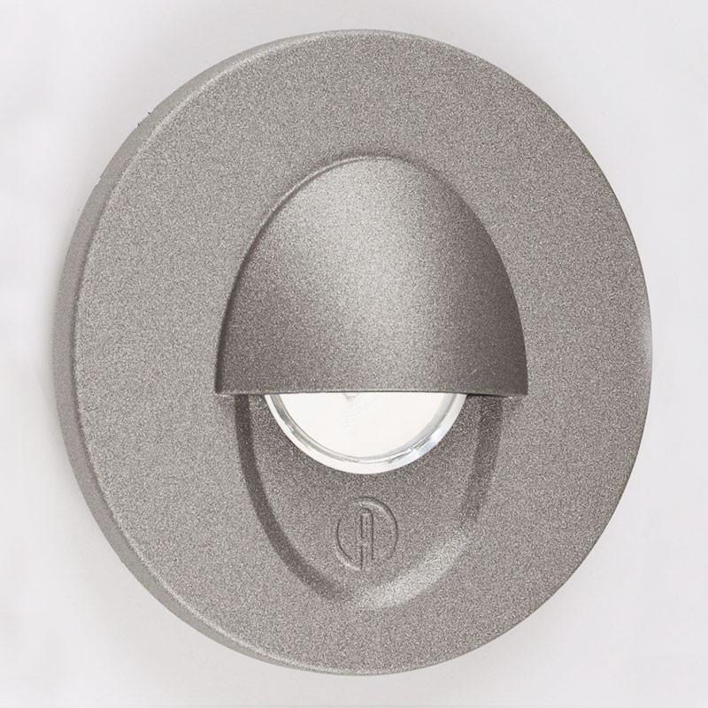 LED 1.2W Aluminium Wall Light - Anthracite Eyelid - Plain Diffuser from Eurotech Lighting for $295.99