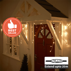 LED Icicle Light - 132LEDs/2m - Extendable up to 20M from Light.co.nz for $39.99