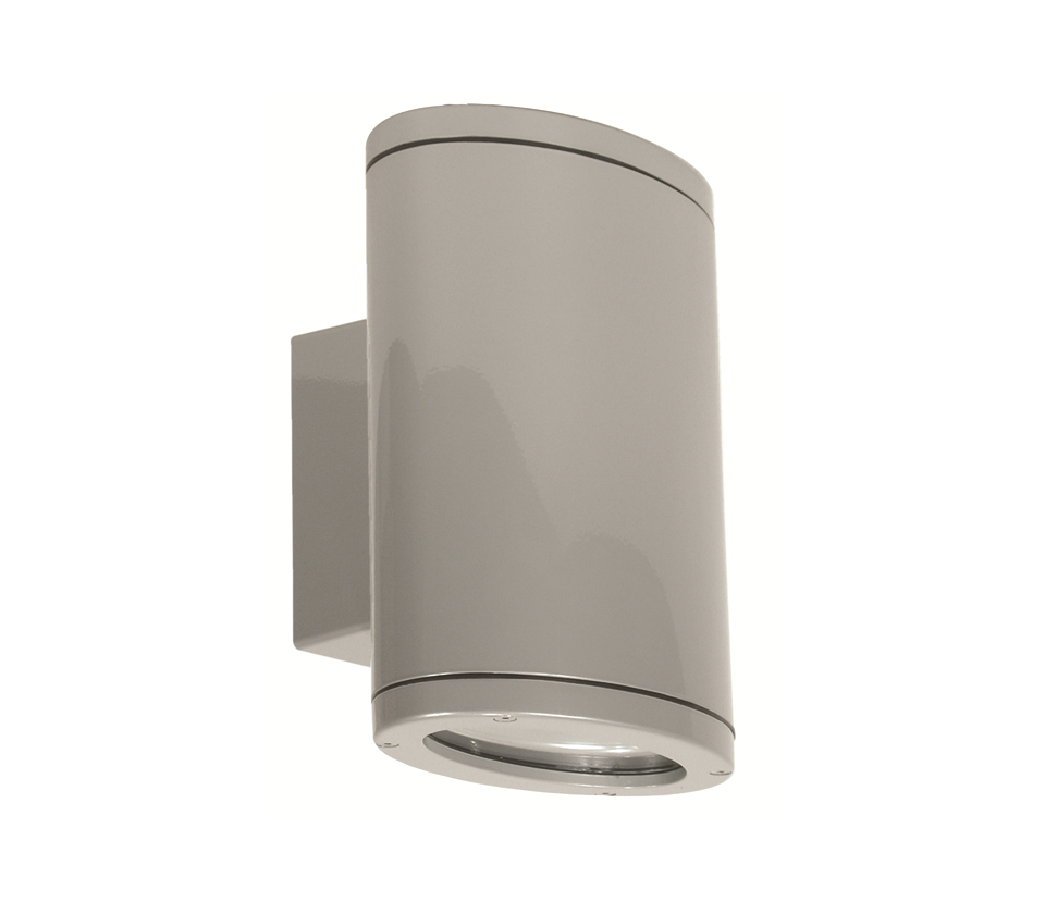 Eurotech Lighting Exterior Wall Fitting - Aluminium