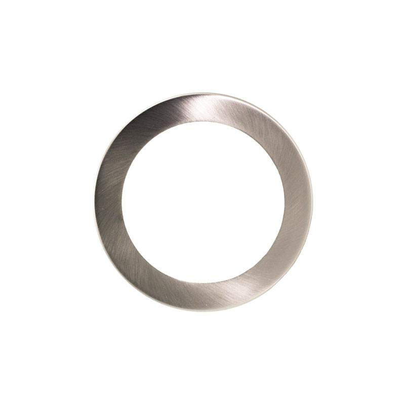 Retrofit Converter Plate 130mm Trim - Brushed Chrome from LEDFocus for $6.99