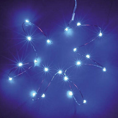 LED Silver Wire Seed Fairy Light - 2m, AA Battery Powered from Generic Brand for $10.99