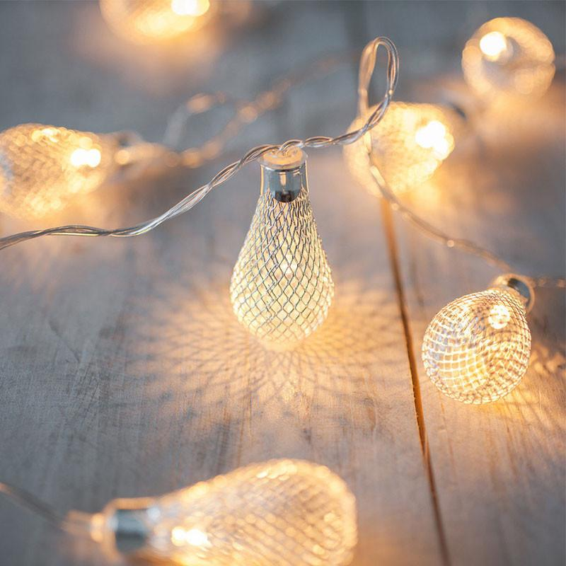 LED Mesh Bulb Fairy Light - 2m, AA Battery Powered from Generic Brand for $25.99