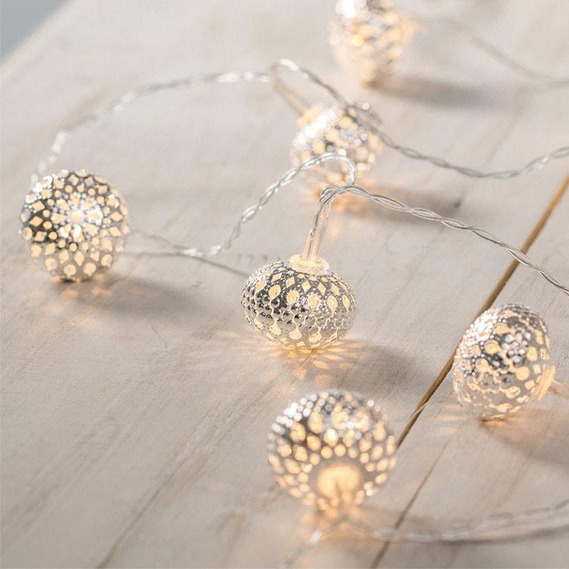 LED Mini Balls Fairy Light - 2m, AA Battery Powered from Generic Brand for $25.99