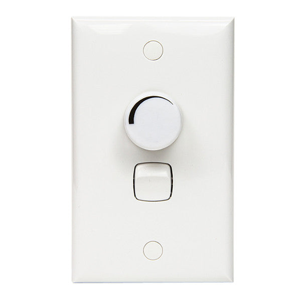 Switch Panel + Switch + LED Dimmer Package