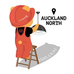 Recommended me an Electrician - Auckland North from Light.co.nz for $0.00