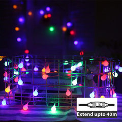 LED Bubble Light - 50LEDs/5m - Waterproof - Extendable up to 40m - RGB Phasing from Light.co.nz for $25.99