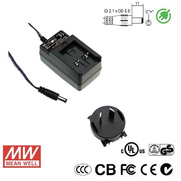 Meanwell LED Power Supply 24W 12V - DC Driver