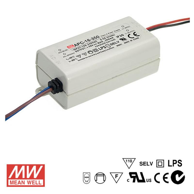 Mean Well LED Power Supply 16W 700mA - DC Driver from Meanwell for $28.96